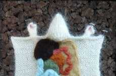 Knitted Science Experiments - PETA-Friendly Lab Rats by Crafty Hedgehog