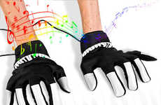 Musical Gloves - Piano Hands Make Impromptu Recitals Possible