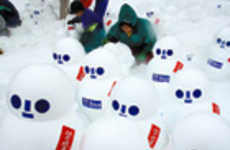 Send Your Friends Snow-Filled Snowmen as Gifts