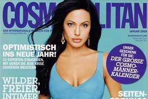 Angelina Jolie Kicks Off Cosmopolitan's Humanitarian Issue