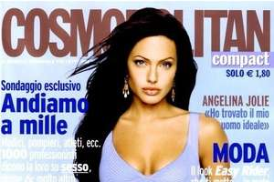 Cosmo's Recycled Photos of Angelina Jolie