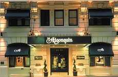 Tech-Savvy Hotel Amenities - The Algonquin Provides Free Favorite Book on Kindle