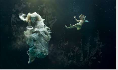 Mythical Underwater Art