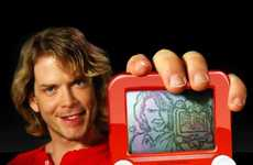 Etch-A-Sketch Portraits