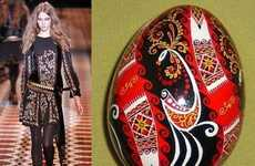 Gucci Channels Pysanka