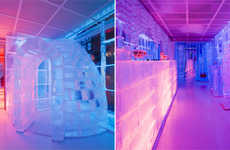 Urban Ice Hotels - The Paris 'Kube' Hotel is Temporary but Tres Chic