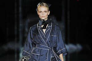 Dolce & Gabbana Women's Pantsuits Inspired by Men's PJs