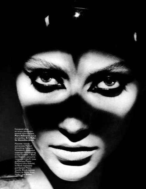 Masked Chiaroscuro Editorials
