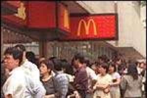 Queues for Hire at McDonald's in Japan