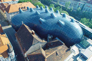 Austria's Kunsthaus Graz Oozes Art