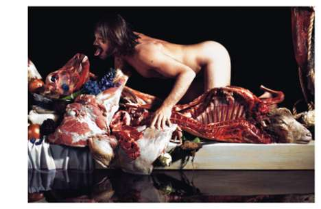 Making Meat Look Sexy - Purple Magazine Has Some Pretty Twisted Editorials