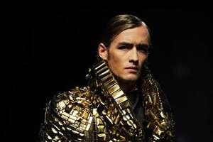 Antonin Tron's Bronze & Gold Nugget Jacket