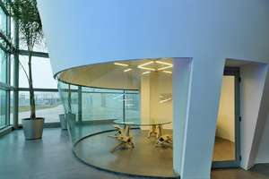The Funnel-Shaped 'Coni Rovesci' Office Spaces