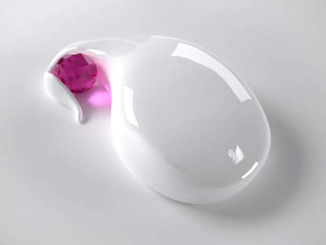 Crystal Computer Accessories - Award Winning Glitzy Swarovski Mouse