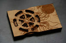 DIY Business Cards with Gears - Intense Planetary Gear Self-Promotion