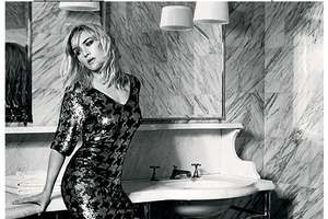 Kate Winslet Goes Vintage for Elle Magazine