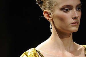 Prada RTW '09 Shows Off Chic and Sexy Gilded Crinkles