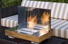Pop-Up Fireplaces