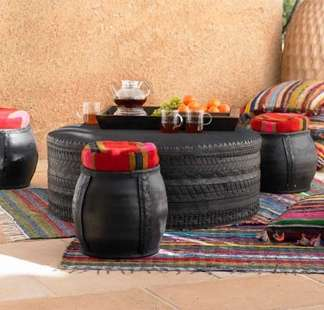 Furniture From Old Tires