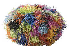 Koosh Ball Ottomans