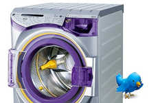 Microblogging Appliances - Washing Machine Tweets When Cycle Completes