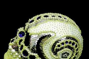 Amy Sarkisian's Glitzy, Bejeweled Skulls