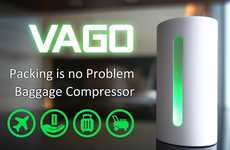 Space-Saving Baggage Compressors