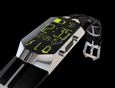 Anti-Sleep Watches - The 'NOZzER' Watch Allows Wearers to Stay Alert During Wear