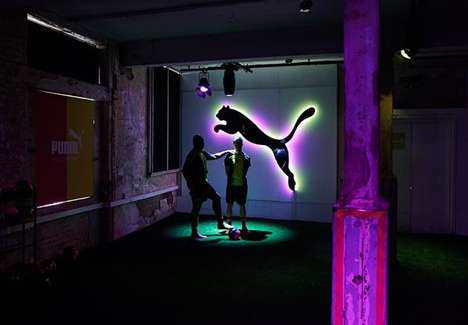 Interactive Football Cleat Launches - This Puma Tricks Event Launched the Shoe in London