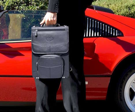 Retro Travel Technology Bags - The MacCase Flight Case Briefcase is Slim Yet Offers Enhanced Storage
