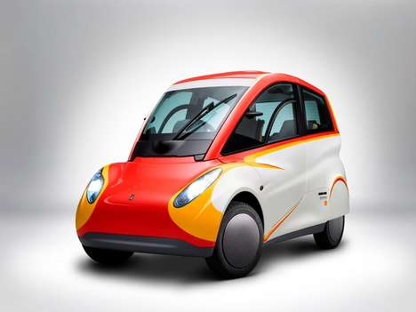 Oil Brand City Vehicles - The Shell Project M Concept Car Features a Fuel Economy of 89mpg