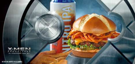 Cinematic Burger Promotions - The Berserker X Burger Celebrates the Release of the New X-Men Movie