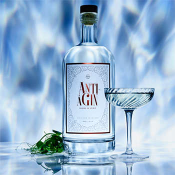 Anti-Aging Gin Drinks - 'Anti-AGin' from Bompas & Parr Boasts Age-Defying Botanical Ingredients