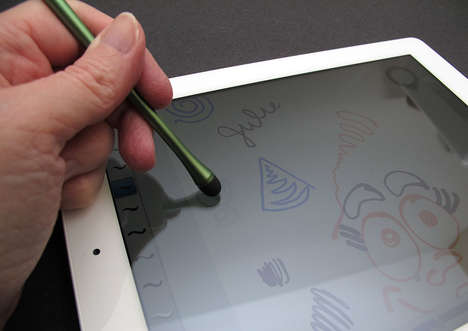 Digital Artist Styluses - The Monet Stylus Allows Consumers to Draw on a Mobile Tablet Canvas
