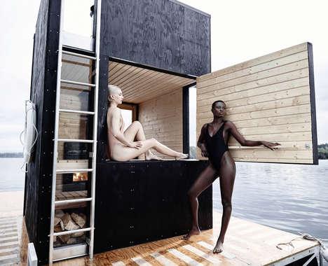 Floating Sauna Structures