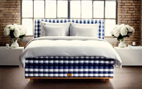 Swedish Artisan Beds - Hästens' Luxurious 'Vividus' Bed Took Over 320 Hours to Create