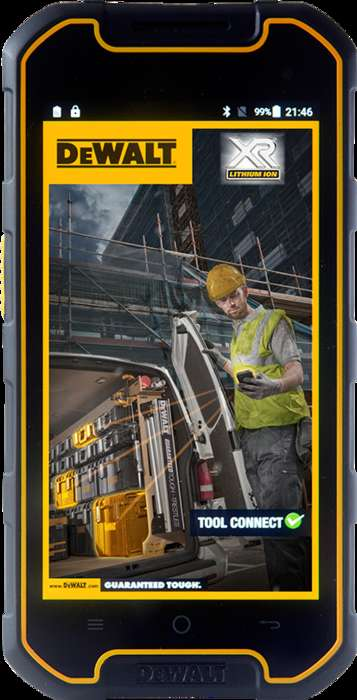 Ultra-Durable Smartphones - The MD501 by DeWalt is a Smartphone Designed for Tough Environments