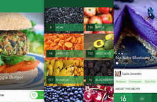 Vegan Lifestyle Apps - The Food Monster Platform Encourages Vegan Eating With Recipes and Photos