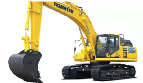 Heavy-Duty Hybrid Excavators - This Komatsu Excavator is Super Fuel-Efficient