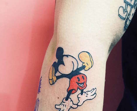 Colorful Pop Tattoos