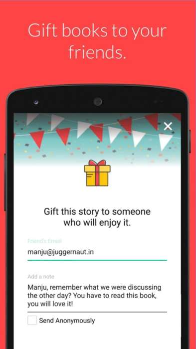 Expansive E-Book Apps - The Juggernaut App Encourages Indian Smartphone Users to Read More