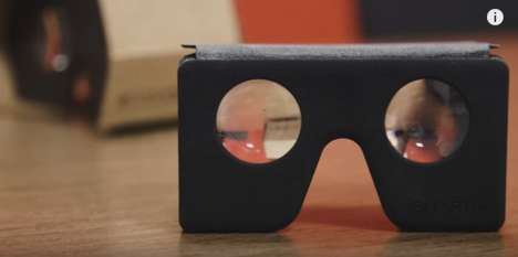 Compact VR Headsets - The SmartVR by Dodocase is Cheaper and Chicer than Google Cardboard