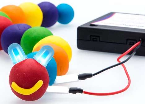 Educational Electricity Kits - The Squishy Circuit Kit Teaches Kids About Electrical Basics