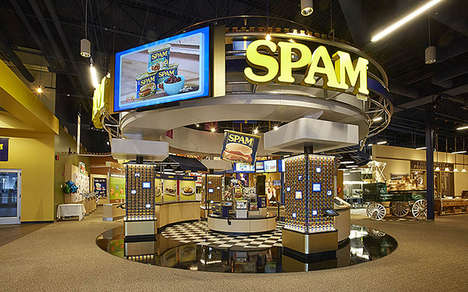 Canned Meat-Themed Museums - The Spam Museum Celebrates the History of Canned Meat