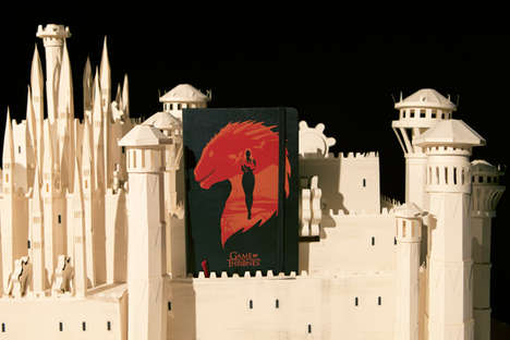 Cinematic Fantasy Notebooks - The Moleskine Game of Throne Collection is For Note-Taking Fans