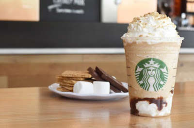 Resurrected Campfire Drinks - The S'mores Frappuccino Will Return to Starbucks for a Limited Time