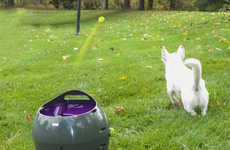 Autonomous Dog Toys - The 'PetSafe' Automatic Ball Launcher Lets Dogs Play Fetch without Owners