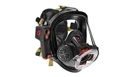 Thermal Imaging Firefighter Masks - The Scott Sight Mask Allows For Hands-Free Thermal Imaging