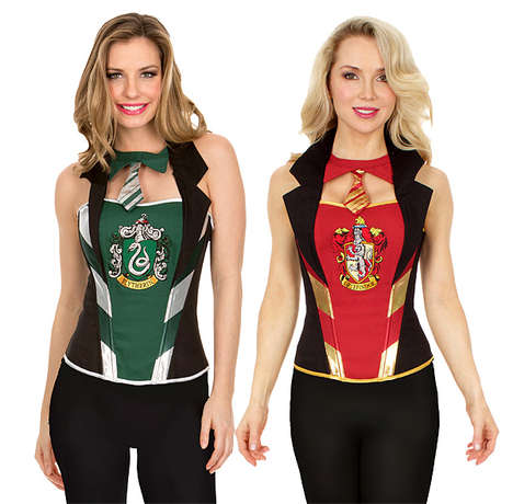 Wizardly House Corsets - These Harry Potter Women's Girdles Represent the Different Hogwarts Dorms