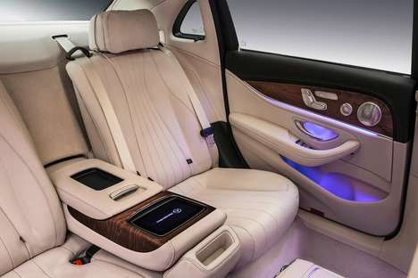 Elongated Luxury Vehicles - This Long-Wheelbase Mercedes E-Class Targets the Chinese Car Market